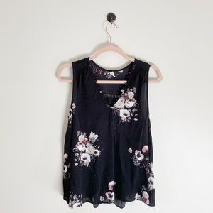 Gentle Fawn Floral Trapeze Tank